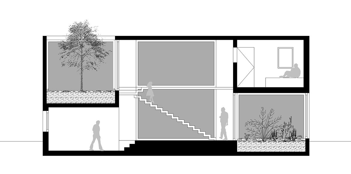 Maison A Patio maison À patio | boomerang & macadam atelier d'architecture