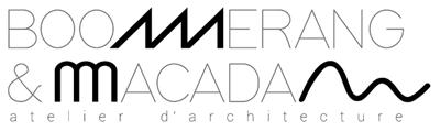 Boomerang & Macadam Atelier d'architecture Logo